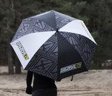 Regenschirm Moto-Cross Kart fahren